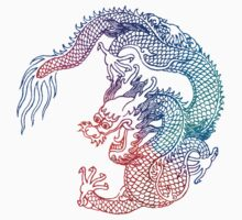 Rainbow Dragon by Zehda