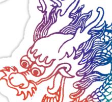 Rainbow Dragon Sticker
