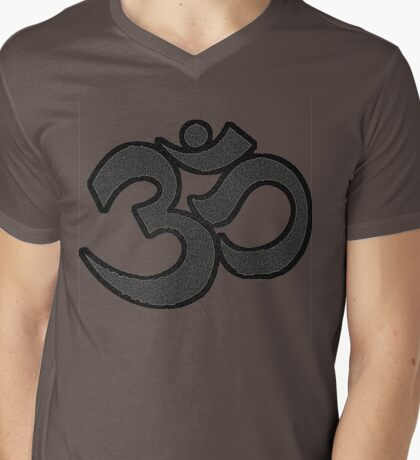 Rock Om Mens V-Neck T-Shirt