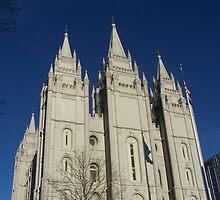 The Temple Salt Lake City by Mardra