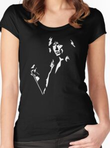 stencil David Coverdale Women's Fitted Scoop T-Shirt