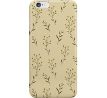 elegant seamless flower iPhone Case/Skin