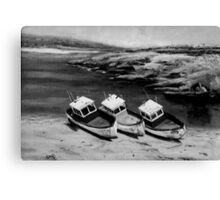 The three Sisters 2.22 Canvas Print