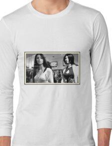 Two Plastic Ladys # 2 Long Sleeve T-Shirt