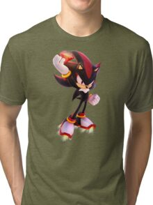 Shadow the Hedgehog Tri-blend T-Shirt