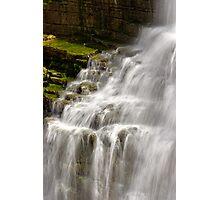 Detail - Chittenango Falls Photographic Print