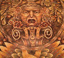 NYC Floor Tile Mosaic by Lagoldberg28