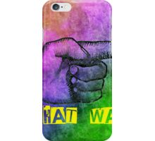 That Way iPhone Case/Skin