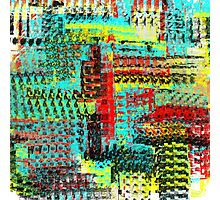 Colorful Abstract Design Photographic Print