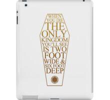 BMTH Coffin Kingdom iPad Case/Skin