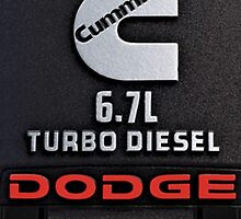 Cummins Diesel Engine by rachelfun