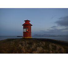 Sugandiseyjarviti, Stykkisholmur, Snaefellsnes, Iceland Photographic Print