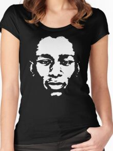 stencil Mos Def Yasiin Bey Women's Fitted Scoop T-Shirt