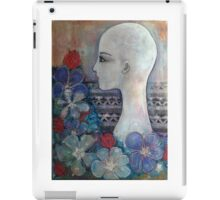 Naked with Flowers iPad Case/Skin