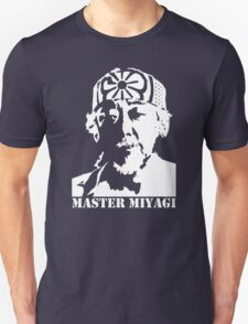 stencil Mr Miyagi Karate Kid T-Shirt