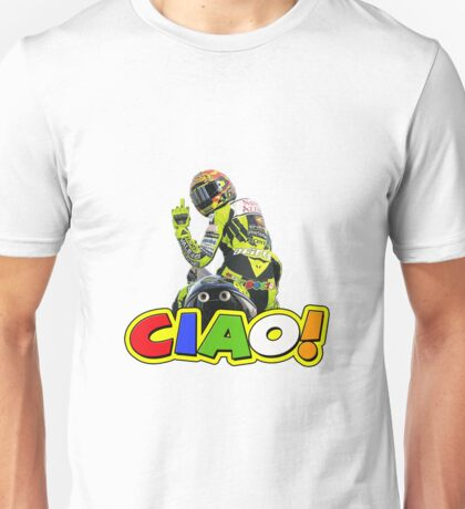 rossi ciao finger Unisex T-Shirt