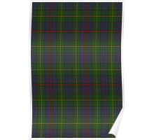 00017 The House of Bailey Clan Tartan  Poster
