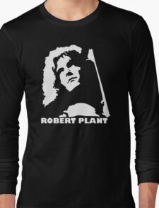 stencil Robert Plant Long Sleeve T-Shirt