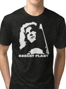 stencil Robert Plant Tri-blend T-Shirt