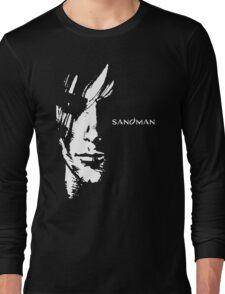 stencil Sandman Long Sleeve T-Shirt
