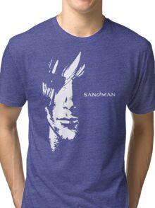 stencil Sandman Tri-blend T-Shirt