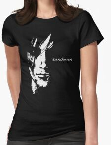 stencil Sandman Womens Fitted T-Shirt