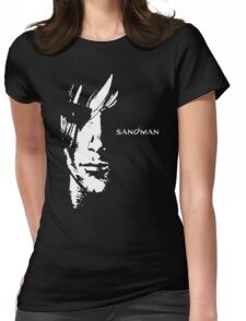 stencil Sandman Womens Fitted T-Shirt