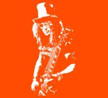 stencil Slash Guns N Roses Rock Band Kids Tee
