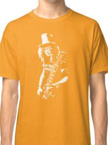 stencil Slash Guns N Roses Rock Band Classic T-Shirt