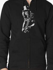 stencil Slash Guns N Roses Rock Band T-Shirt