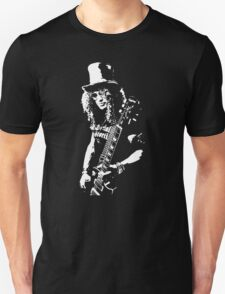 stencil Slash Guns N Roses Rock Band T-Shirt