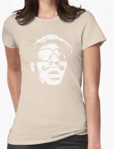 stencil Stevie Wonder Womens Fitted T-Shirt