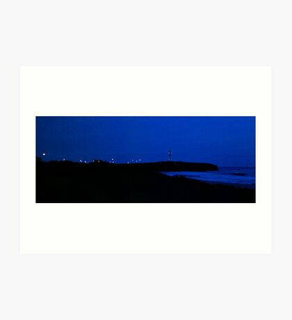 Dark Morning Sky Art Print