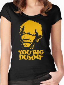 stencil You Big Dummy Women's Fitted Scoop T-Shirt