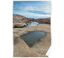 Hazard Rocks Mirror Poster