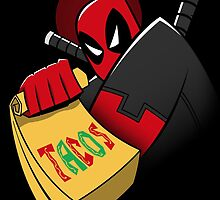 Tacos The Animated Series Sticker by RyanAstle