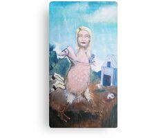 Gwyneth Poultry Canvas Print