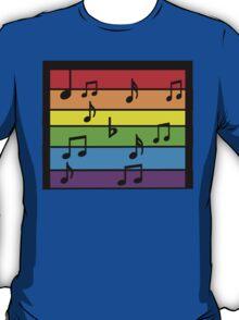 Music The Rainbow  T-Shirt