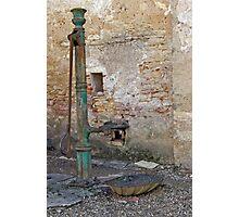 Vineyard Pump Photographic Print