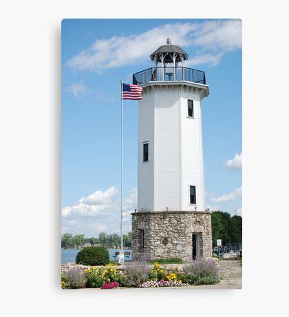 Fond Du Lac Lighthouse Canvas Print