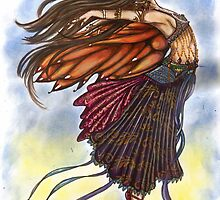 Bella Ballerina Dancer Faerie by autumndomoslai
