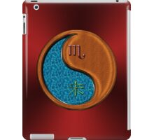 Scorpio & Goat Yin Wood iPad Case/Skin