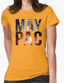 "Mayweather vs Pacquiao ""MayPac"" Womens Fitted T-Shirt"
