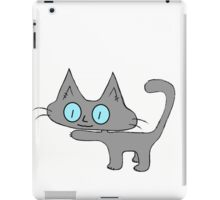 Petite Gray Kitten iPad Case/Skin