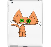 Tiger Kitten with a Big Smile iPad Case/Skin