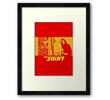 The Shiny Framed Print