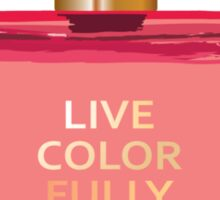 Kate Spade Live Colorfully Perfume Ilustration Sticker