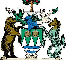 Kelowna Coat of Arms  by abbeyz71