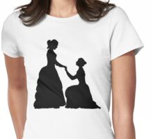 a decent proposal Womens Fitted T-Shirt