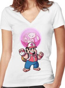 Steven and Mew Women's Fitted V-Neck T-Shirt